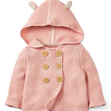 Mini Boden Pretty Knit Jacket (Baby Girls & Toddler Girls) | Nordstrom