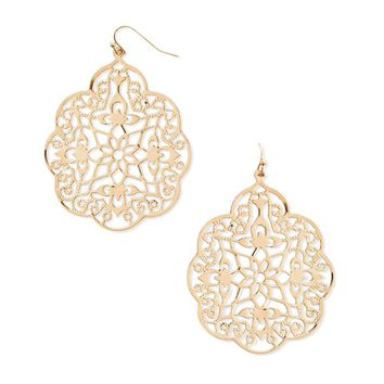 Ornate Cutout Earrings