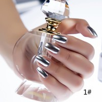 6ml Metallic Nail Polish Mirror Oil Gel PolishGel Varnishes Metal Mirror Oil Party New Arrival