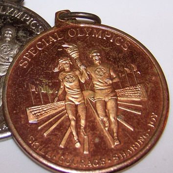 Special Olympics Bronze Medal, Olympic Sports Medal, Sports Collectible, Olympics Award, Sports Award, Sports Memorabilia, Collectible Medal