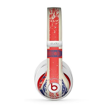 The Vintage London England Flag Skin for the Beats by Dre Studio (2013+ Version) Headphones