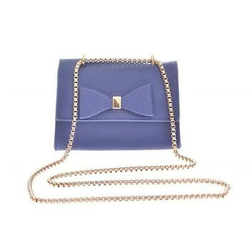 Blue Bow Bag