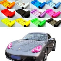 30*60cm 13 Colors Car Smoke Fog Light Headlight Taillight Tint Vinyl Film Sheet = 1706365636