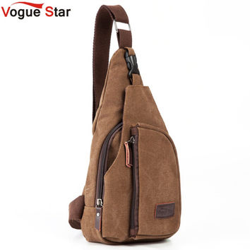 One Shoulder Canvas Messenger Bag/Backpack
