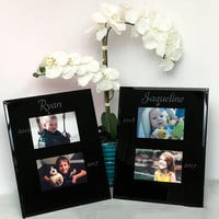 Custom Engraved Photo Frames by Wedding Tokens- Anniversary/Wedding Gift. Best Valentines Gift Idea