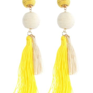 Double Duty Fringe Earrings