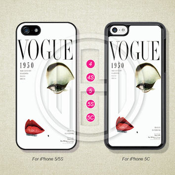 Phone Cases, iPhone 5S Case, iPhone 5 Case, iPhone 5C Case, iPhone 4 case, iPhone 4S case, VOGUE, Case For iPhone --L50081