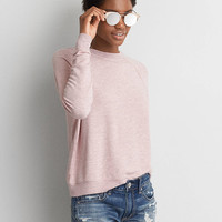 AEO Soft & Sexy Terry Sweatshirt, Blush