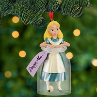Disney Alice in Wonderland Sketchbook Ornament | Disney Store