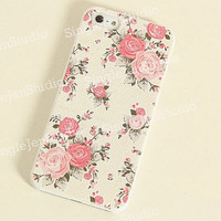 Floral iphone 4 case iphone 4s case iphone by SingleJennystudio