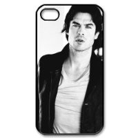 Ian Somerhalder Damon Salvatore in The Vampire Diaries iPhone 4/4s Case Back Case for iphone 4/4s