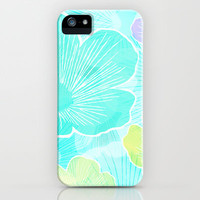 Happy flower iPhone & iPod Case by Claudia Owen