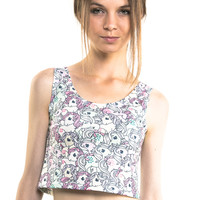 Mystical Pony Crop Top