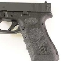 Black Punisher Grips for Glock 19,23,25,32,38