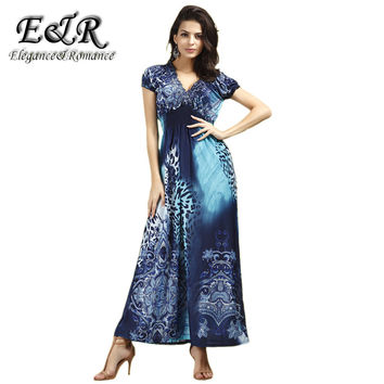 Spring And Summer Fashion Beach Dress Leopard Dress Bohemian Mopping Large Size Ice Silk Dresses