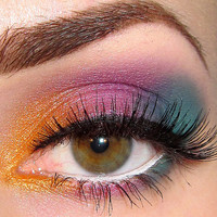 Get this look 3 pc set (Drama Queen, Fiasco, Nymph-O) Eyeshadow Mineral makeup Eye shadow Eyeliner (5g)