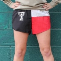 Texas Tech Flag Wind Shorts