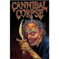 CANNIBAL CORPSE POSTER Death Metal RARE HOT NEW 24x36