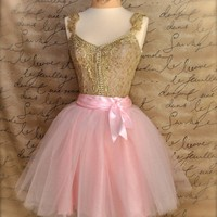 At the Ballet Ballerina pink lined women's tutu in a by TutusChic