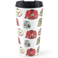 'Ugly Sweaters' Travel Mug by DoucetteDesigns