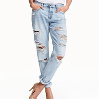 Boyfriend Low Jeans - from H&M