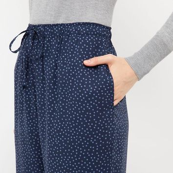 WOMEN DRAPE PANTS (DOT) | UNIQLO
