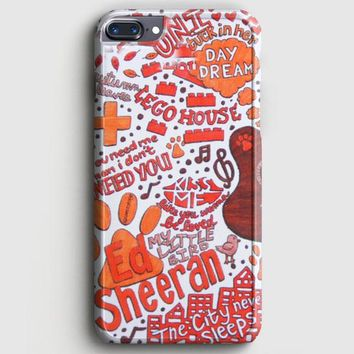 Ed Sheeran Collage iPhone 8 Plus Case | casescraft