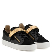 Archer - Low Tops - Black | Giuseppe Zanotti - US
