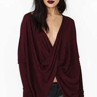 Soft Curve Knit - Oxblood