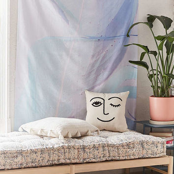 Cru Camera Artist Series Blue Palm Tapestry | Urban Outfitters