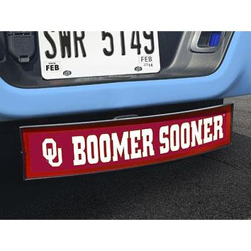 """Oklahoma Boomer Sooner Light Up Hitch Cover 21""""x9.5""""x4"""""""