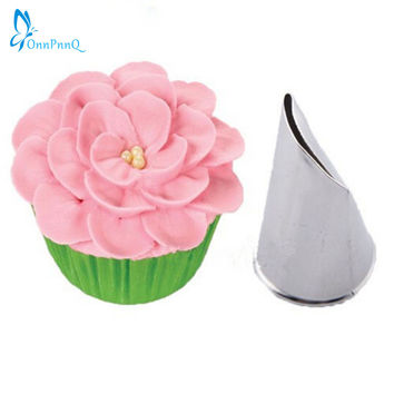 OnnPnnQ Flower Icing Piping Tips Nozzle Cake Cupcake Decoration Pastry Tool Baking Molds
