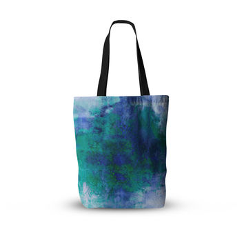 "Ebi Emporium ""Epoch 2"" Blue Teal Everything Tote Bag"