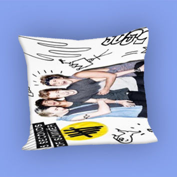 5SOS Colorfull Photos for Pillow Case, Pillow Cover, Custom Pillow Case **