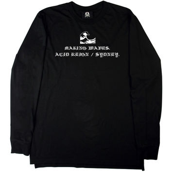 BLACK WAVES LONG SLEEVE