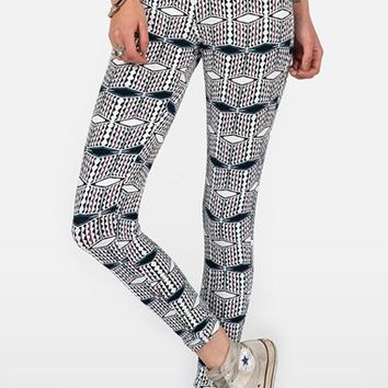 Junior Women's Volcom 'Quilted Mind' Leggings,