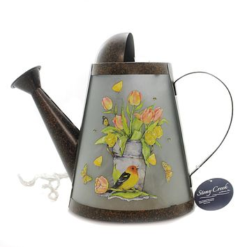 Stony Creek Lighted Watering Can Home Decor