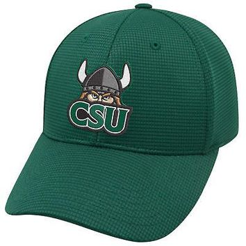 Licensed Cleveland State Vikings NCAA One Fit Booster Plus Hat Cap Top of the World KO_19_1