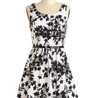 Tank top (2 thick straps) A-line Petals and Panache Dress