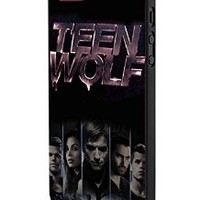 Teen Wolf Logo iPhone 5 Case Hardplastic Frame Black Fit For iPhone 5 and iPhone 5s