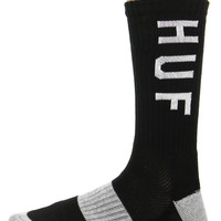 BLACK LOGO PERFORMANCE SOCK
