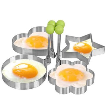 New Stainless Steel Fried Egg Pancake Shaper Mold Mold Kitchen Tools Kitchen Tools Drop Shipping Hot Selling Top Quality