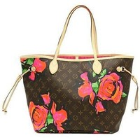 Louis Vuitton New Graffiti Rose Shoulder Bag - $229.00