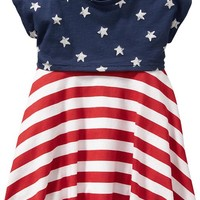 Old Navy 2 In 1 Stars And Stripes Dresses For Baby