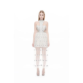 Jacquard Warrior Gown