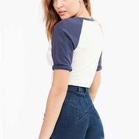 Wrangler Star Cheeky High-Rise Jean Short