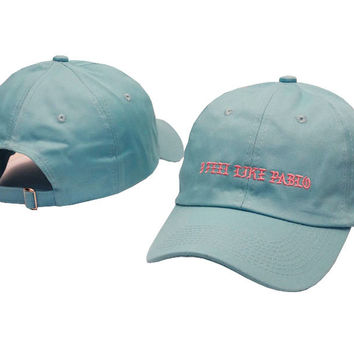 Kanye West I FEEL LIKE PABLO Light Blue Dad Hat