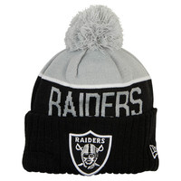 New Era Oakland Raiders NFL Sideline Knit Hat