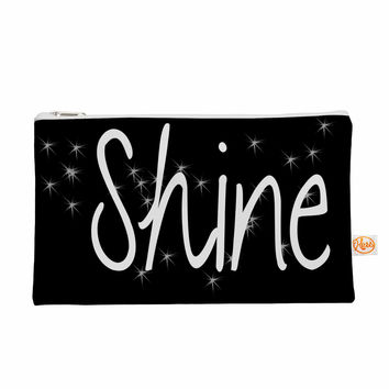 "Suzanne Carter ""Shine"" Black White Everything Bag"