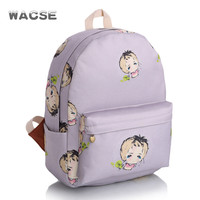 Casual Fashion Korean Cute Travel Stylish Lovely Backpack = 4888042756